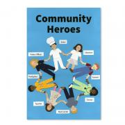 Community Heroes Poster