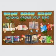 Reading Grows Your Mind Bulletin Board