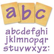 Ellison SureCut Die Set - Lollipop Alphabet, Lowercase Letters - 4 Inch