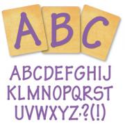 Ellison SureCut Die Set - Lollipop Alphabet, Capital Letters - 3 Inch
