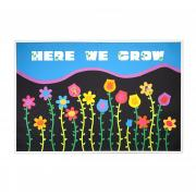 Here We Grow Bulletin Board