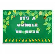 Jungle Leaves Bulletin Board