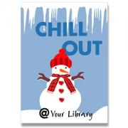 Chill Out Library Poster
