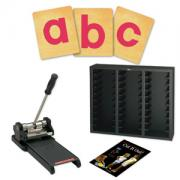 Prestige SpaceSaver Starter Set w/SureCut Block Lowercase Letters - 1 1/4 Inch Multiple-Up