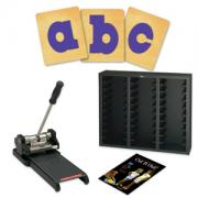 Prestige SpaceSaver Starter Set w/SureCut Circus Shadow Lowercase Letters - 5 Inch