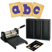 Prestige Pro Starter Set w/SureCut Circus Shadow Lowercase Letters - 4 Inch