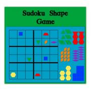 Sudoku Shape Game