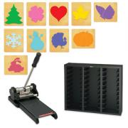 Holiday #2 Decorative SureCut Die Starter Set w/Prestige SpaceSaver - Small