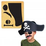 Ellison SureCut Die - Pirate Hat, Eye Patch & Mustache - XL