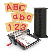Ellison SuperStar Excel Super Saver w/SureCut Block Capital, Lowercase & Numbers - 4 Inch