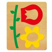 Ellison SureCut Die - Bulletin Board, Flowers, Leaves & Stem - XL
