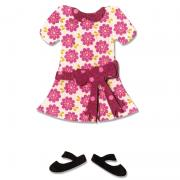 Sizzix Bigz Die - Boy or Girl Figure, Dress & Shoes