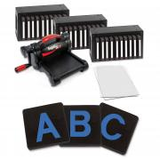 "Ellison SuperStar Starter Set w/Block Alphabet 3 1/2"" Capital Letters"