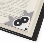 Sizzix Bigz Die - Bookmark, Corner Raccoon