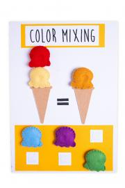 Color Mixing Poster