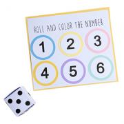 Roll and Color Dice Game
