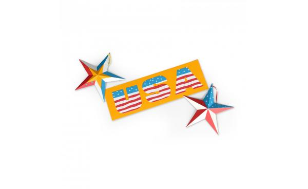 Add These Patriotic Letters To Your Bulletin Board!