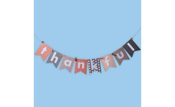 Create a Thanksgiving Bunting!
