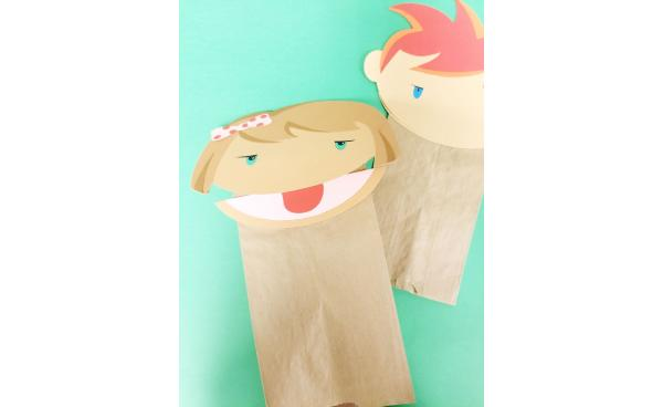 Paper Bag Puppets For All Kinds Of Fun!