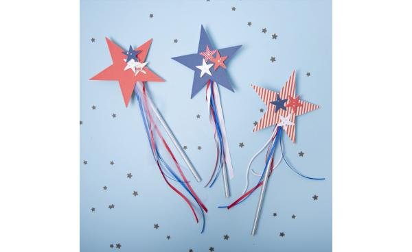 Independence Day Star Wands!