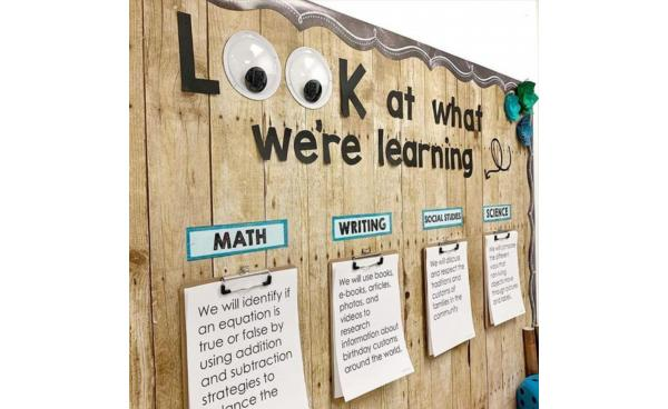Top Tips for Creating Classroom Displays